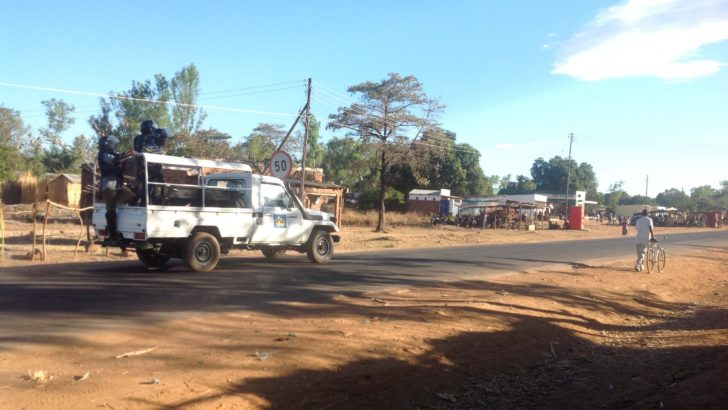 Police, locals clash in KK