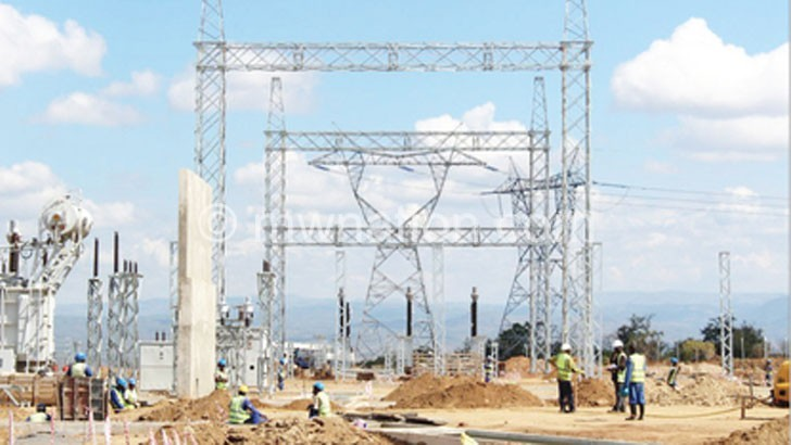 Power infrastructure at Phombeya   The Nation Online