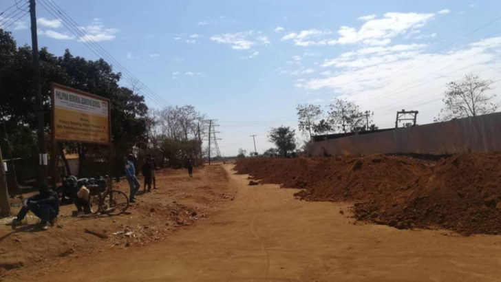 Community questions road  to First Lady's house project
