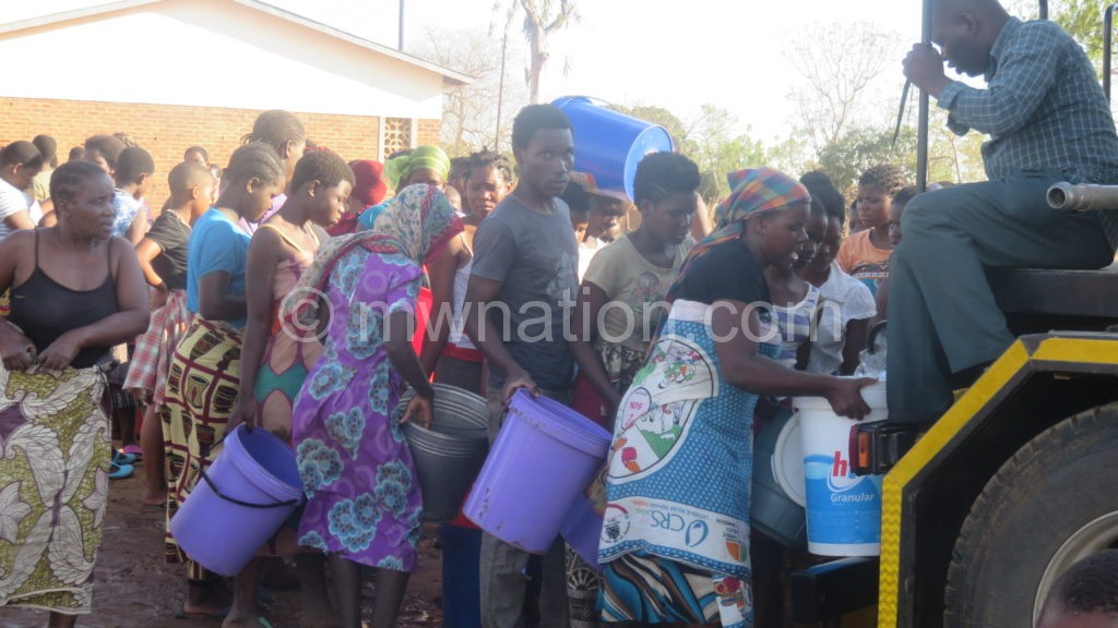 Scramble for water in Balaka 2   The Nation Online