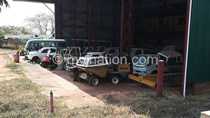 Some of the vehicles earmarked for sale | The Nation Online