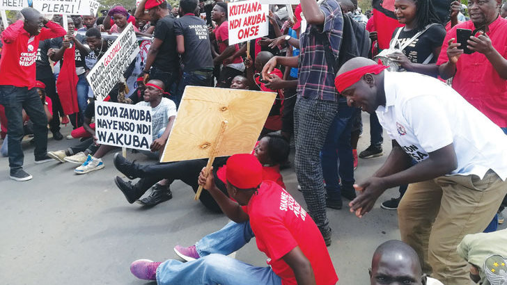 Csos to hold national protest in march