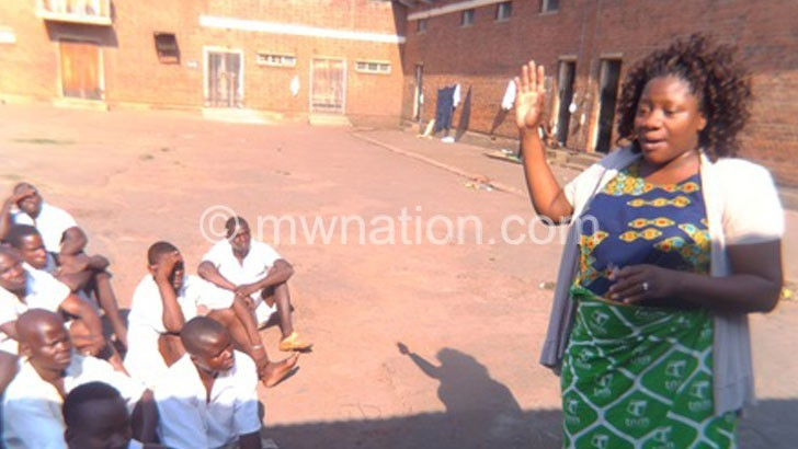 Inmates appeal for electoral information