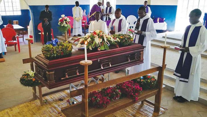 Rubadiri laid to rest