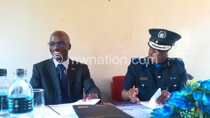 NAPHIYO AND BOTTOMAN SIGNING THE MOU | The Nation Online