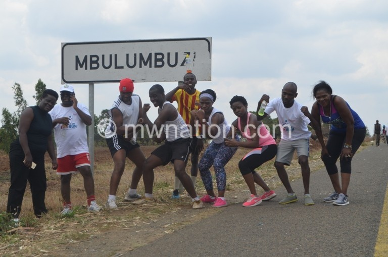 Runners at Mbulumbuzi 1   The Nation Online