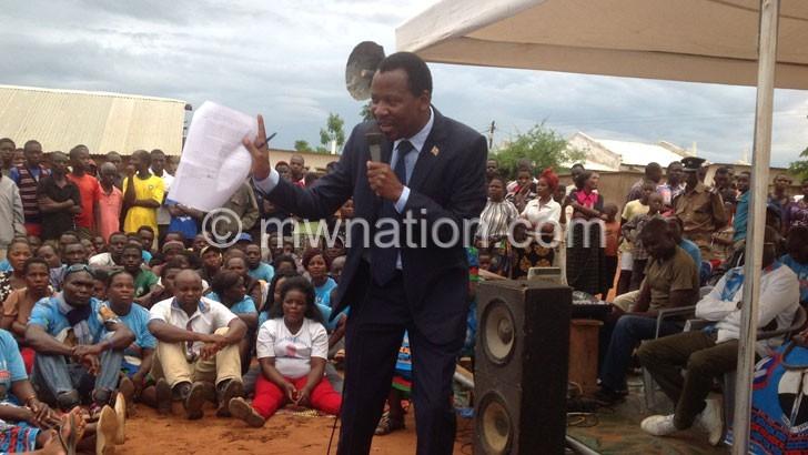 charles mhango | The Nation Online