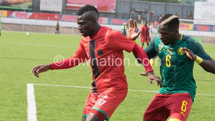 Gaba, CJ to miss Comoros match