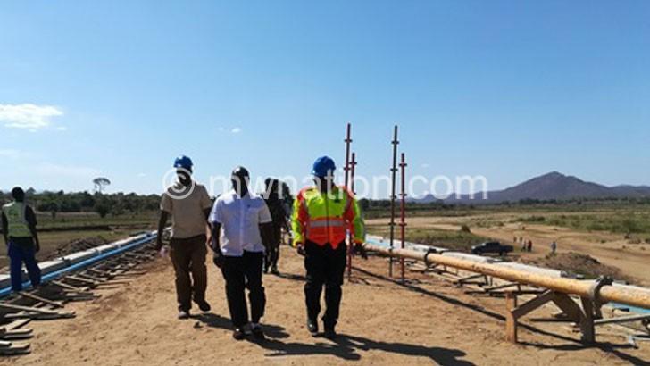 Chapananga bridge nears completion