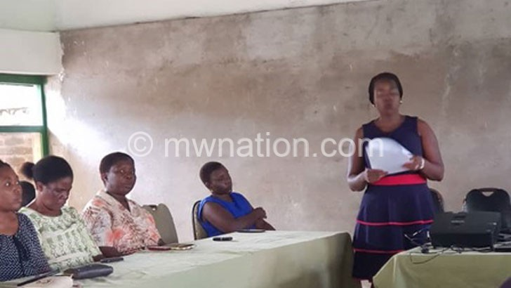Agency advises Salima, Nkhotakota women to campaign on issues