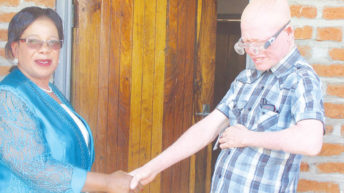 Decent shelter for people with albinism