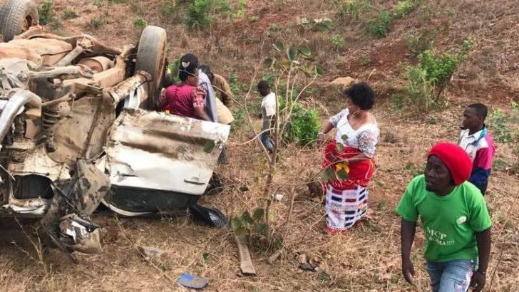 Kaliati survives road accident