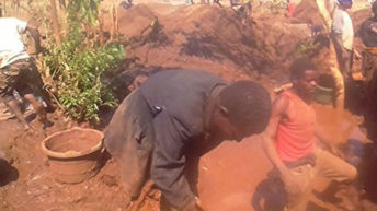 Police arrest 13 illegal miners