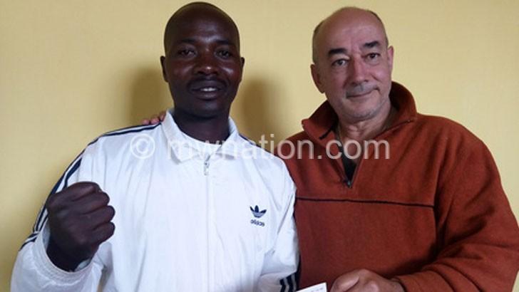 Two taekwondo athletes leave for Africa tourney