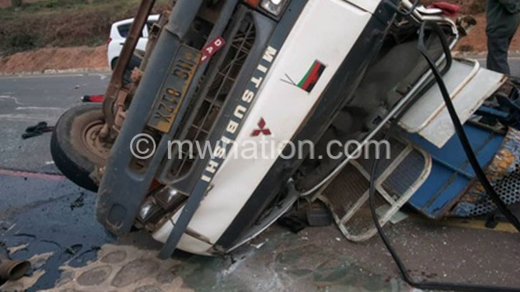 MCC ACCIDENT | The Nation Online