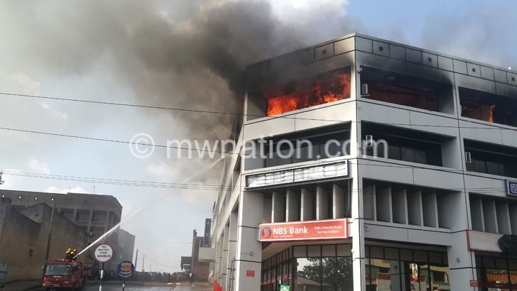 Nico House fire | The Nation Online