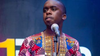 Poet in pre EP launch