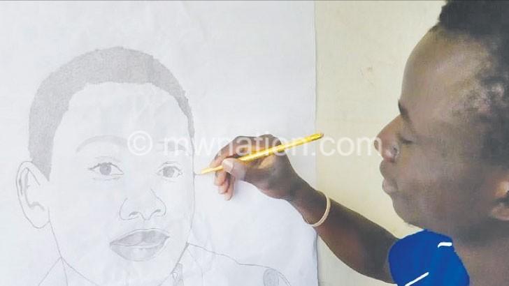 Pencil, paper, art!
