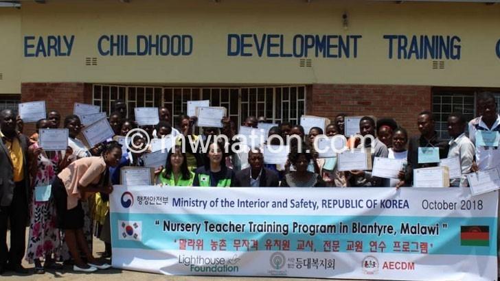 Korean NGO for improved ECD