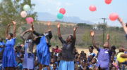 Mary's Meals celebrates feeding one million children in Malawi