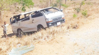 Mizu Band survives accident