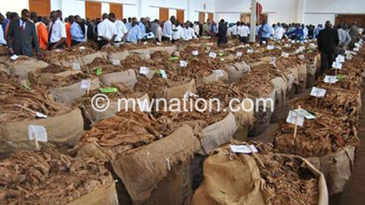 Tobbacco demand likely to dwindle—TCC