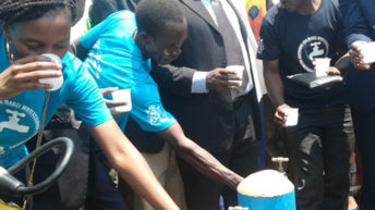 Cholera-hit area gets piped water in Lilongwe