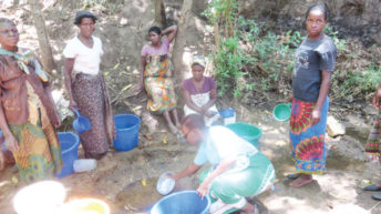 Long search for safe water
