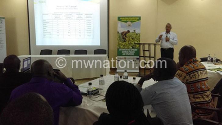 Agriculture forum decries low innovation uptake