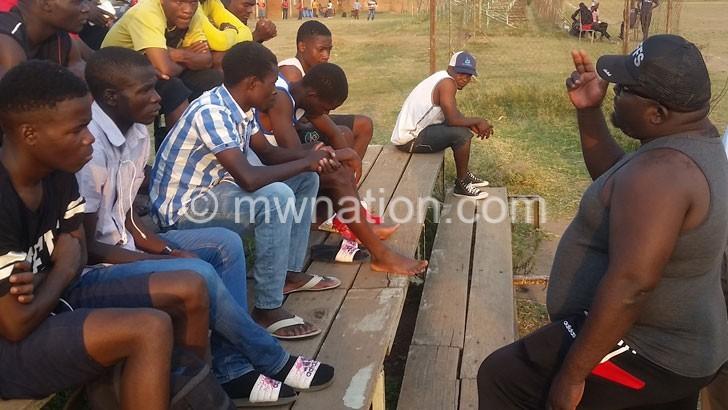Osman and Ntopwa players   The Nation Online