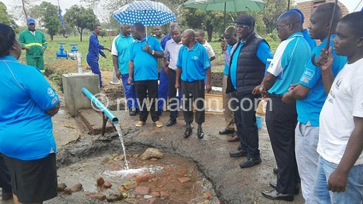 Balaka water project 3 months behind schedule