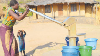 Mpira Dam dries up, communities suffer