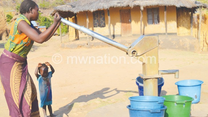 Mpira Dam dries up, communities suffer