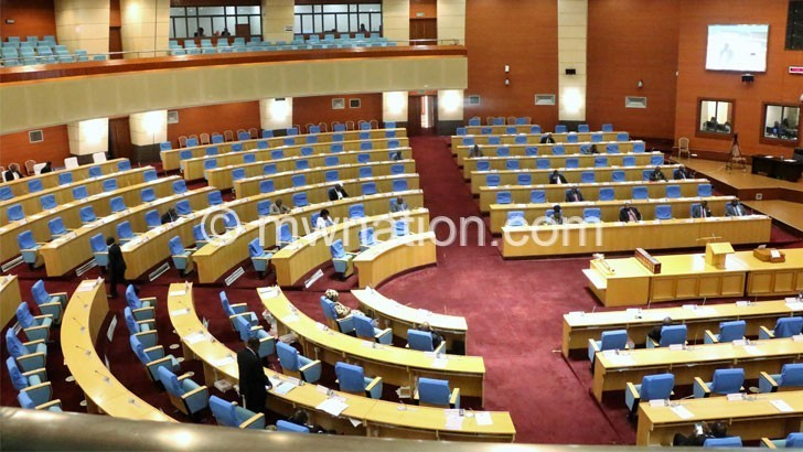 half empty Parliament | The Nation Online