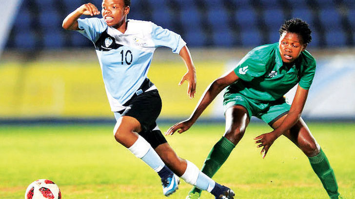 Malawi hold Botswana in Region V women's football