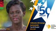 Chifuniro Kamwendo: Global teacher prize nominee