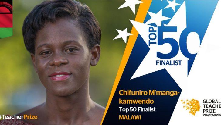 Chifuniro Kamwendo: Global teacher prize nominee