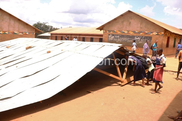 Collapsed school | The Nation Online