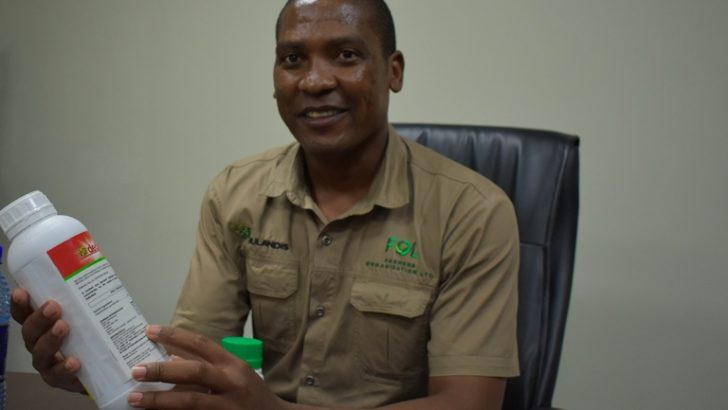 Six pesticides certified to deal with fall armyworms