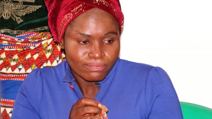 Spouse dumps stripped UTM woman