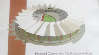 Controversy over BB stadium land