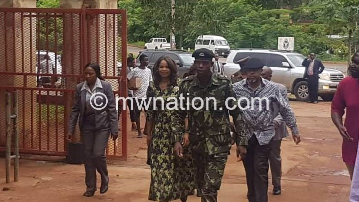 Chilima visits Kalindo at Zomba Prison