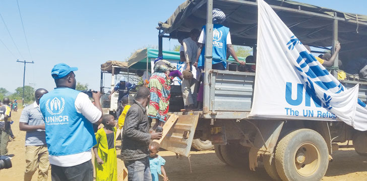 Mozambican refugees back in Malawi