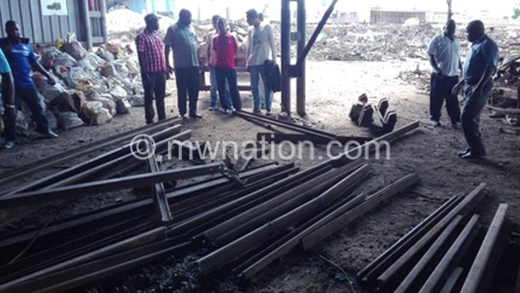 Chinese investor arrested for alleged theft of rail bars