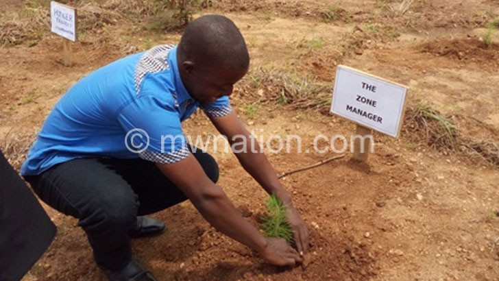ADAMSON PLANTS A TREE | The Nation Online