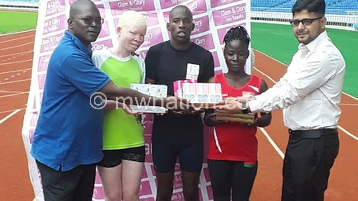 Glam & Glory oils Paralympic athletes for Dubai tourney