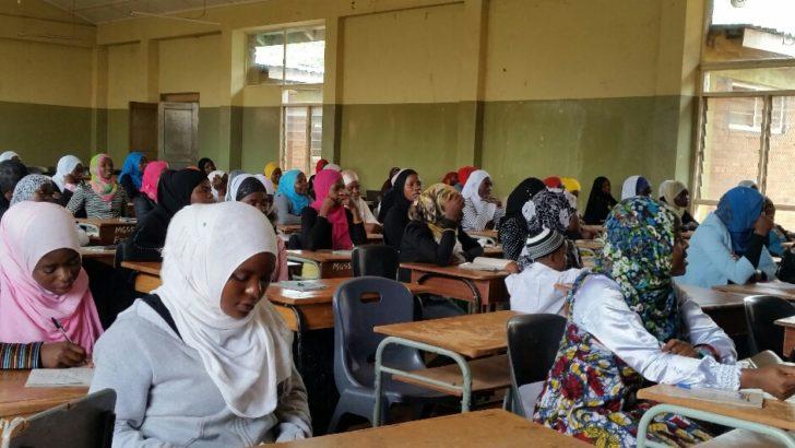 Muslims protest hijab ban in public schools