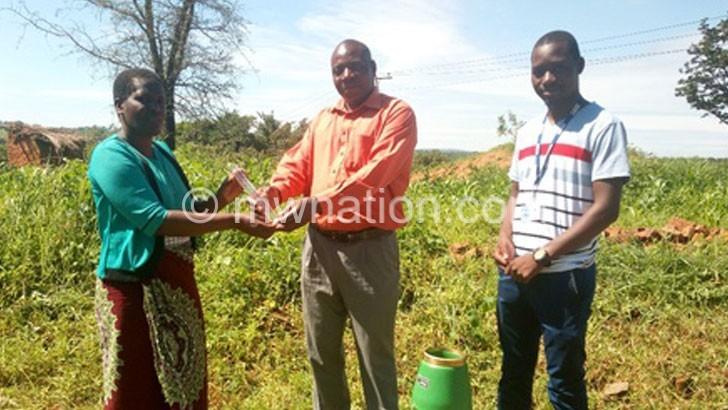 Plan Malawi installs 44 rain gauges in Mzimba