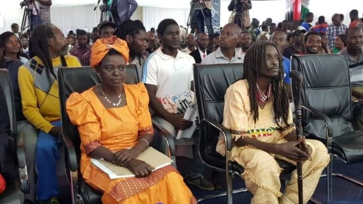 An interview with Ras Chikomeni's mother