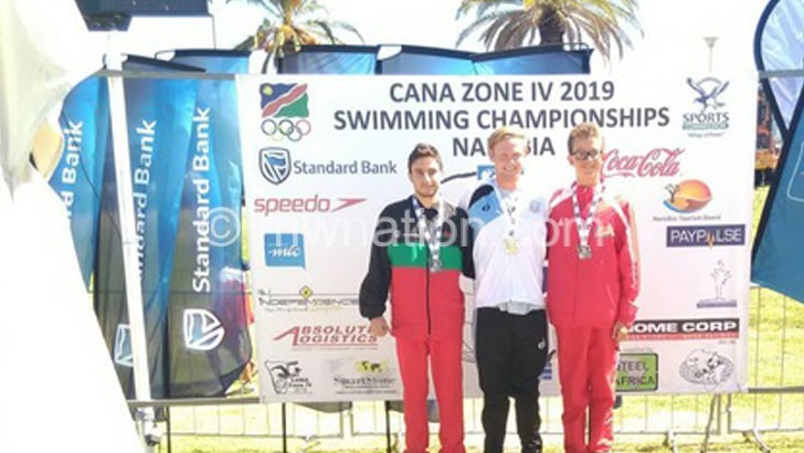 Portugal-based swimmer Gomes wins eight medals at Zone IV